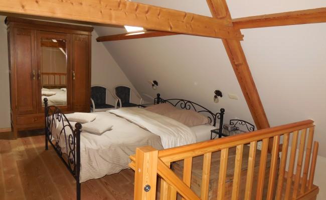 Koetshuis slaapkamer