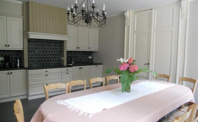 Het Kasteelhuis: de keuken