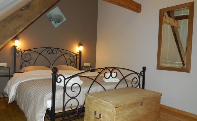 Kasteelhuis slaapkamer I